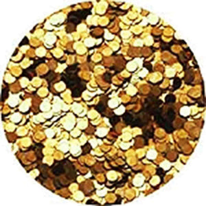 Erikonail Hologram Glitter - Light Gold/1mm - Jewelry Collection