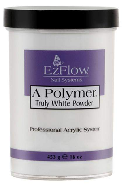 Ez Flow, EZ Flow A Polymer Truly White Powder - 16oz, Mk Beauty Club, Acrylic powder