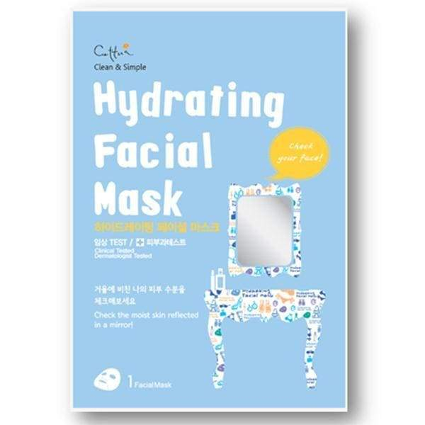 Cettua - Hydrating Facial Mask - 12 Sheets With Display Box