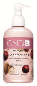 CND Scentsations Lotion - Black Cherry & Nutmeg 8.3 oz.