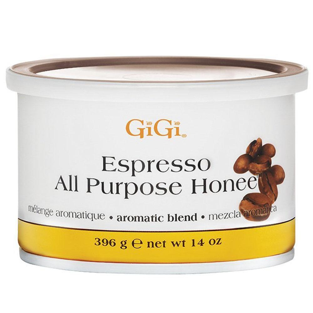 GiGi, GiGi - Espresso All Purpose Honee - 14oz, Mk Beauty Club, Microwave Wax Kit