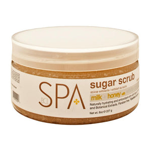 BCL SPA - Milk + Honey with White Chocolate Sugar Scrub - 8oz