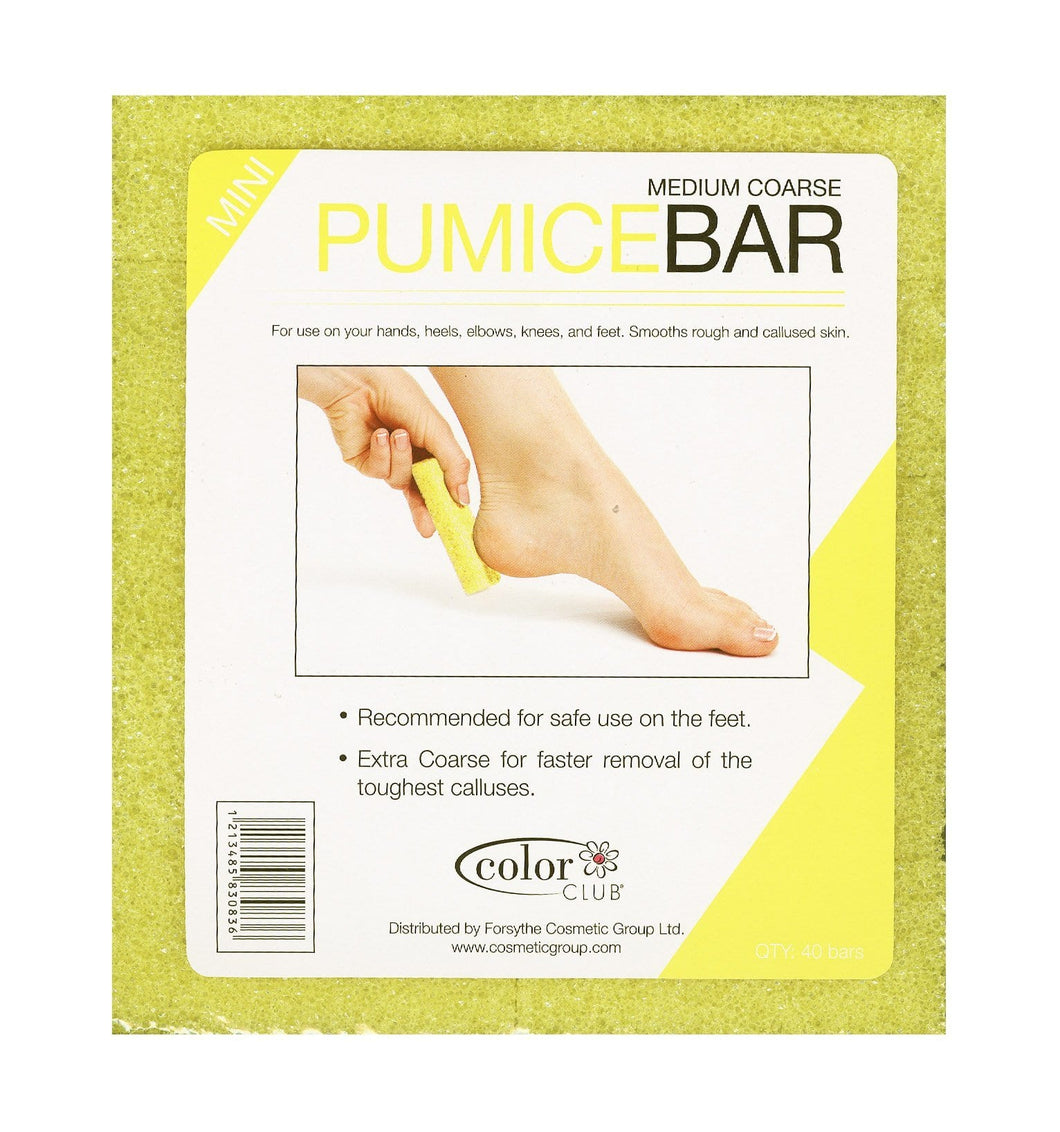 Color Club - Pumice Bar - Medium Coarse 40 Mini Bars