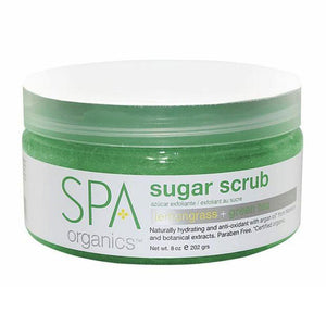 BCL SPA - Lemongrass + Green Tea Sugar Scrub - 8oz