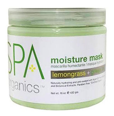 BCL SPA - Lemongrass + Green Tea  Moisture Mask - 16oz
