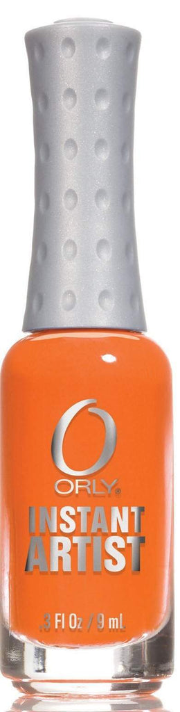 Orly, Orly Instant Artist - Orange Peel, Mk Beauty Club, Nail Art
