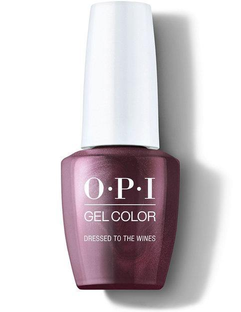 OPI OPI GelColor - Dressed to the Wines #HPM04 Gel Polish - Mk Beauty Club