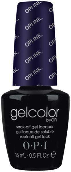 OPI, OPI Gel Polish GCB61 - OPI Ink, Mk Beauty Club, Acrylic & Gel