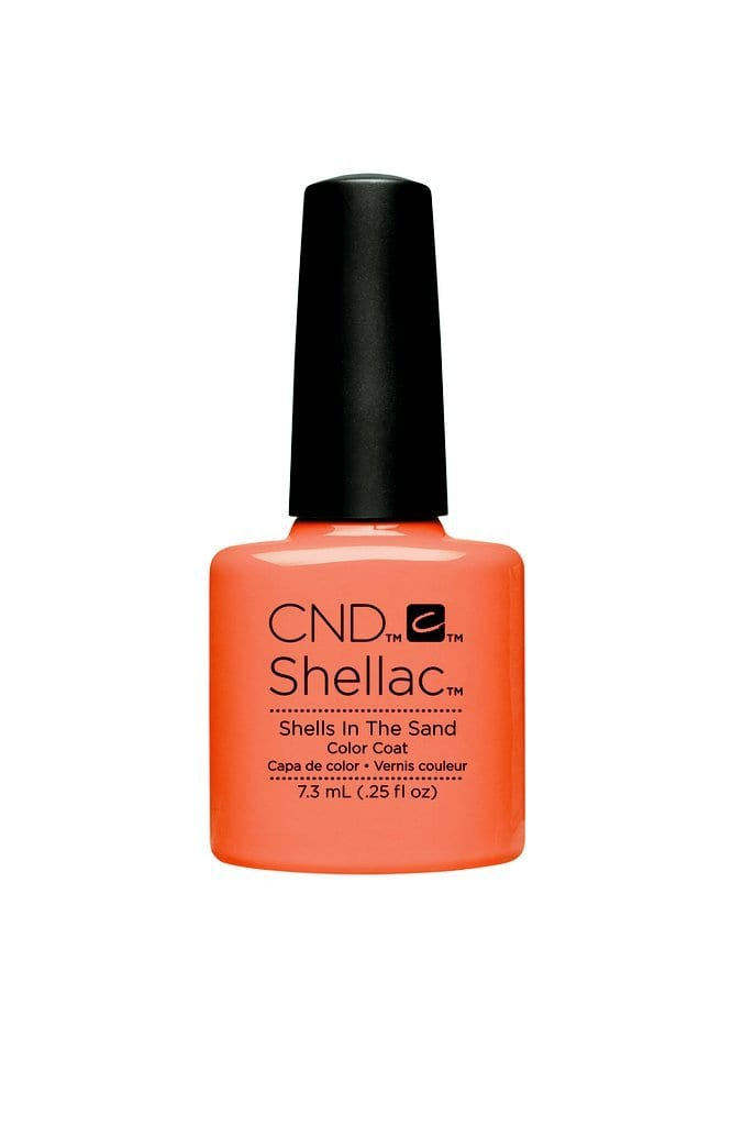 CND Shellac - Rhythm & Heat Collection - Shells in the Sand
