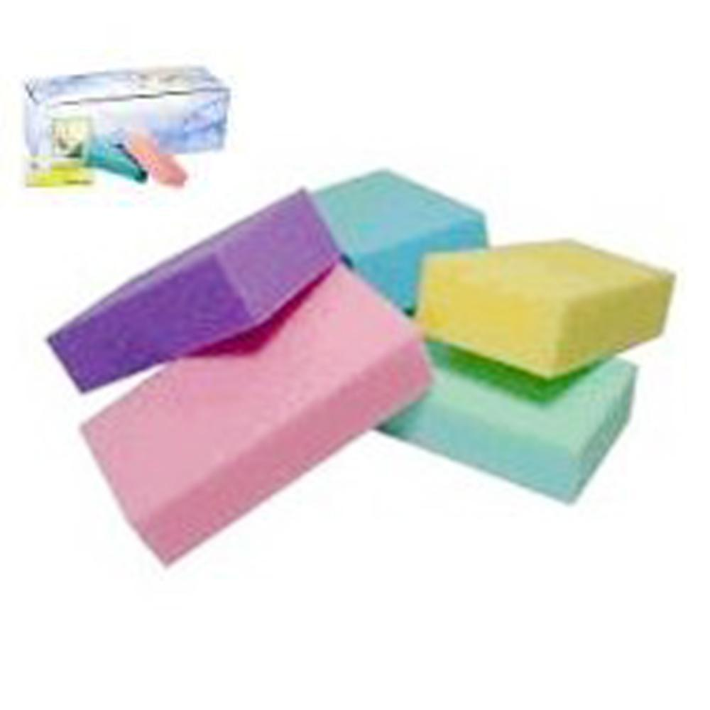 Ikonna - Pumice Pad - 24/BOX - Colors Assorted