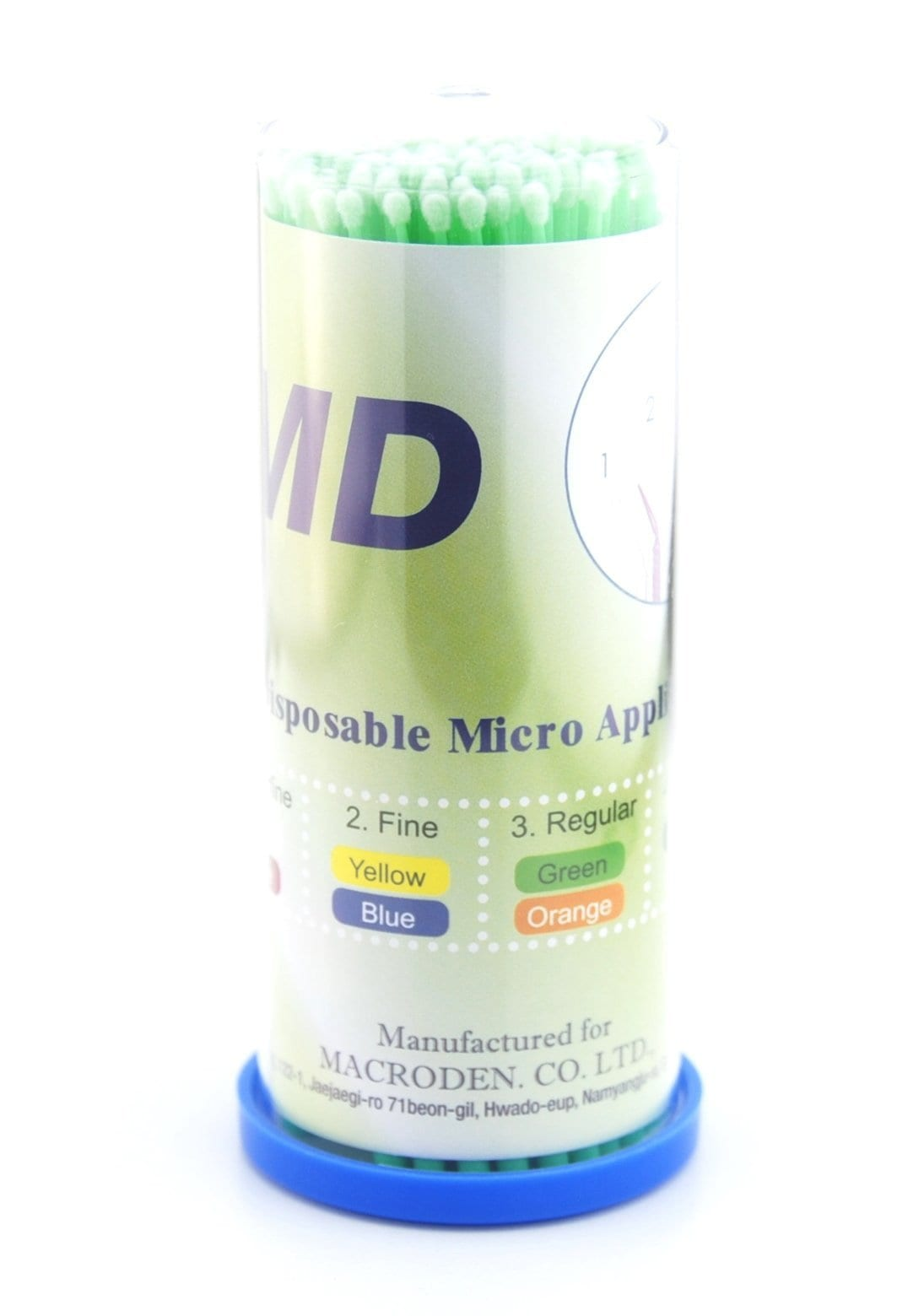 MD Disposable Micro Applicator - Green
