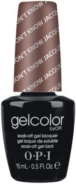 OPI GelColor - You Don't Know Jacques!