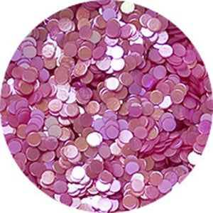 Erikonail Hologram Glitter - Pastel Pearl Pink/1mm - Jewelry Collection