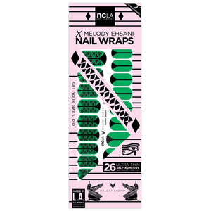 NCLA - Money Green - Nail Wraps