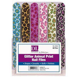 DL Professional, DL Pro - Glitter Animal Print Nail Files, Mk Beauty Club, Nail Files