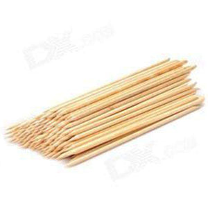"Orange Woodsticks - 7"" 100pc"