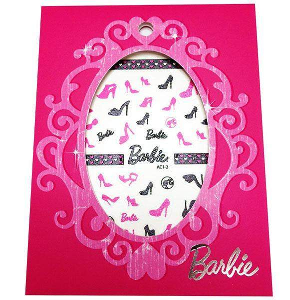 Mattel - Barbie Nail Stickers - Barbie Shoes