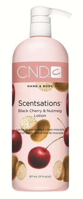 CND Scentsations Lotion - Black Cherry & Nutmeg 31 oz.