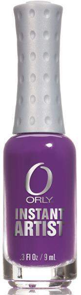 Orly, Orly Instant Artist - Grape, Mk Beauty Club, Nail Art