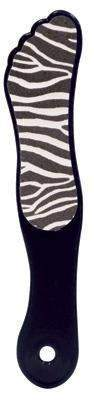 DL Professional, DL Pro - Animal Print Foot File - Zebra, Mk Beauty Club, Foot File