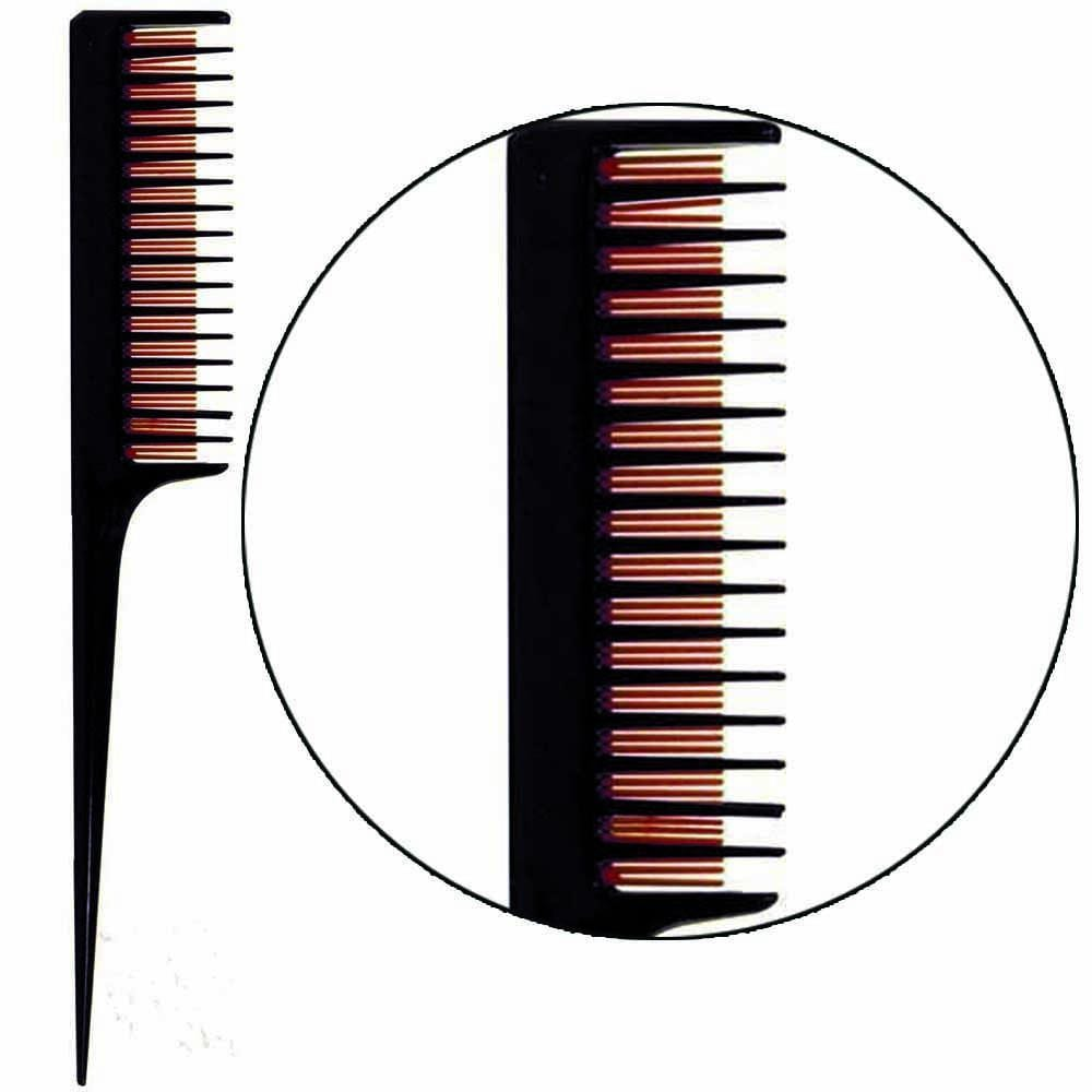 "Salon Chic, Salon Chic - 8"" Deluxe Triple Teasing Comb, Mk Beauty Club, Supply"