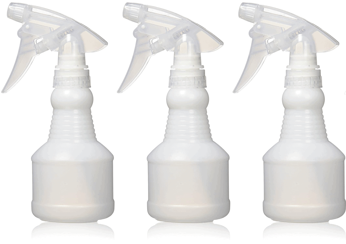 Soft N Style Spray Bottle 8oz Fine Mist 3pc Set Spray Bottles - Mk Beauty Club