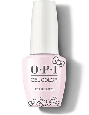 OPI GelColor - Let's Be Friends! - Hello Kitty 2019