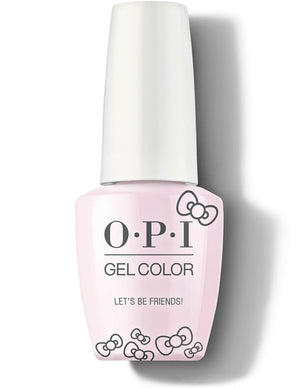 OPI GelColor Let's Be Friends! - Hello Kitty Collection 2019