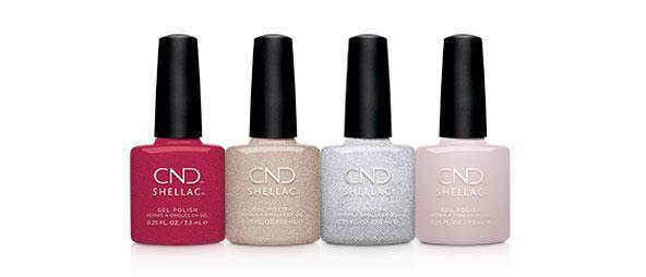 CND Shellac Gel Polish - Soiree Strut  / Night Moves