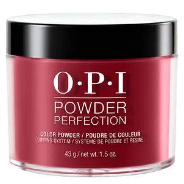 OPI Powder Perfection - DPH02 Chick Flick Cherry 1.5oz