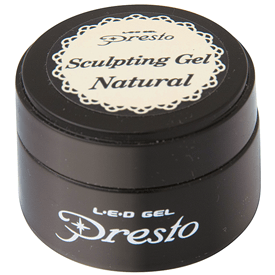Presto Sculpting Gel Jar - Natural 0.3oz
