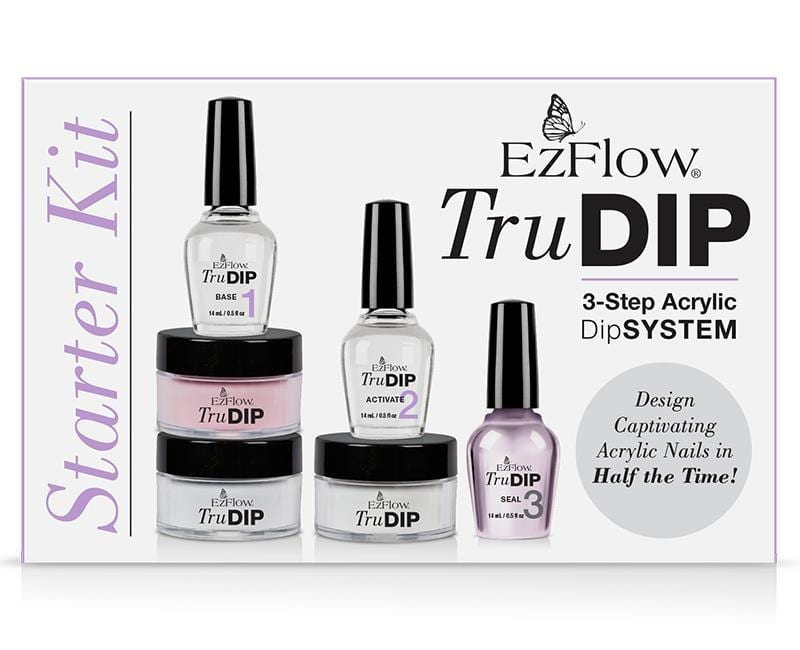 Ez Flow, Ez Flow Tru DIP Starter Kit, Mk Beauty Club, Dip System Kit