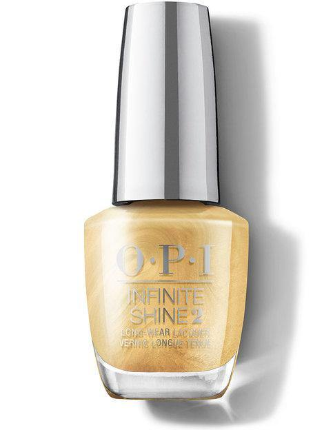 OPI OPI Infinite Shine - This Gold Sleighs Me #HRM40 Long Lasting Nail Polish - Mk Beauty Club