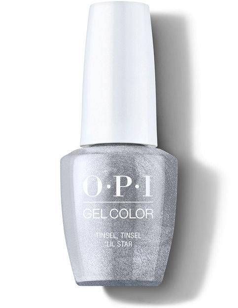 OPI OPI GelColor - Tinsel, Tinsel Lil Star #HPM10 Gel Polish - Mk Beauty Club