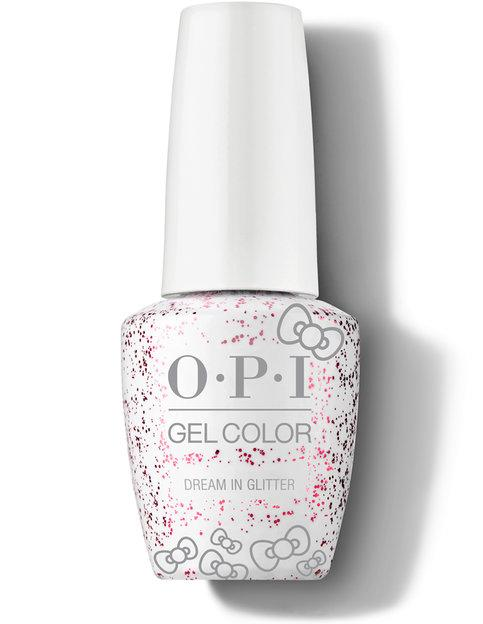 OPI GelColor - Dream in Glitter - Hello Kitty 2019