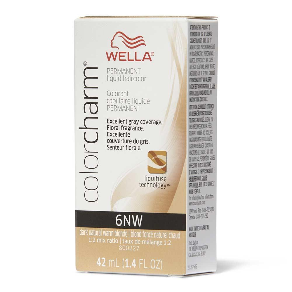 Wella Color Charm 6NW Dark Natural Warm Blobde