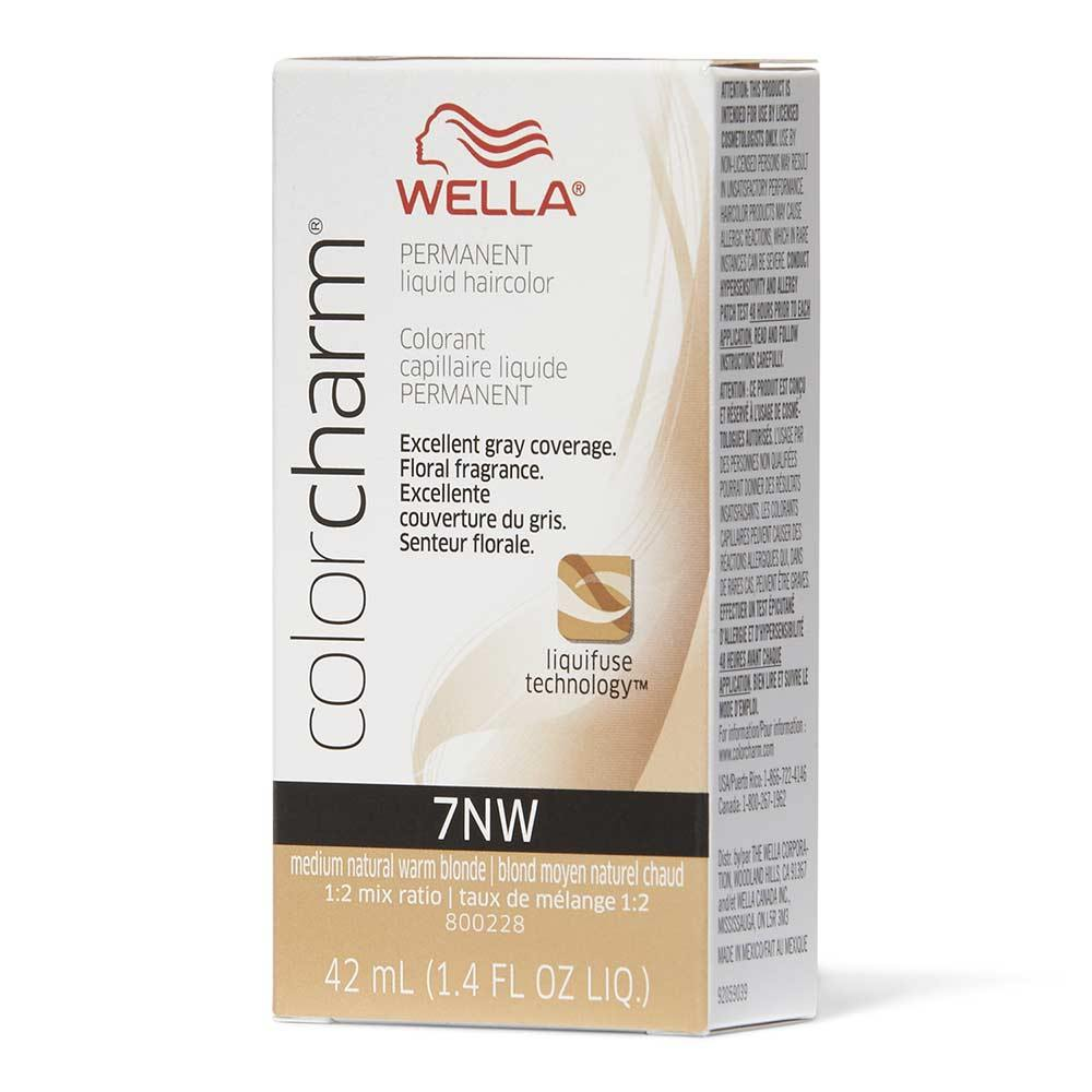 Wella Color Charm 7NW Medium Natural Warm Blonde