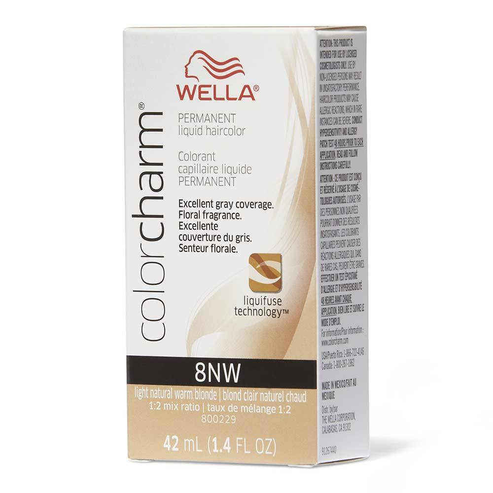 Wella Color Charm 8NW Light Natural Warm Blonde