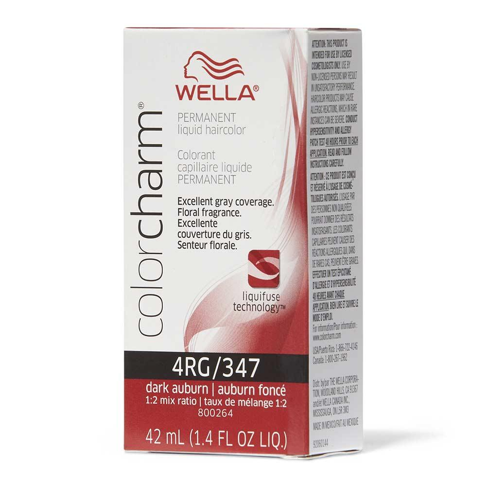 Wella Color Charm 4RG/347 Dark Brown