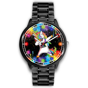 Dabbing Unicorn - LGBTQ+ Pride Watch Watch