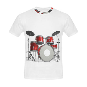 Cool Drum Set All Over Print T-Shirt for Men All Over Print T-Shirt for Men (T40)