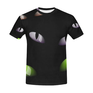 Cat eye All Over Print T-Shirt for Men All Over Print T-Shirt for Men (T40)