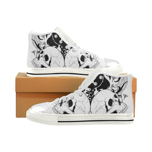 330767-140Q0164P061 Women's Classic High Top Canvas Shoes (Model 017) Women's High Top Canvas Shoes (017)