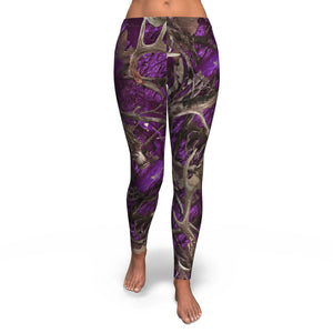 Purple Hunting Leggings Leggings
