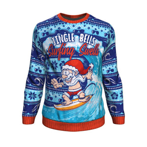 Jingle Bells Surfing Swells Sweatshirt