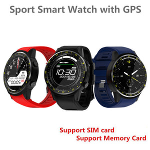 Sports Smartwatch Phone 1.3 inch Support SIM