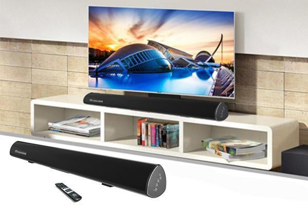 Benefits of the soundbar compared to TV speaker