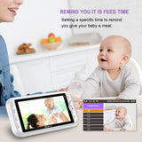 Wohome LY-135 2.4Ghz Wireless Video Baby Monitor with Camera and Audio 5
