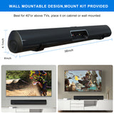 Wohome Soundbar, TV Sound Bar with Bluetooth and 3D Surround Sound(38-Inch, 105dB, Remote Control, Deep Bass, 2020 Updated, Model S9920)