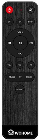 Wohome Replacement Remote for S09 S10 S11 S29 only